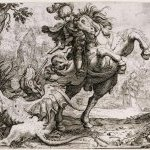 5. Jacques Stella (1596-1657) Saint Georges et le dragon, 1623 Eau-forte (...)