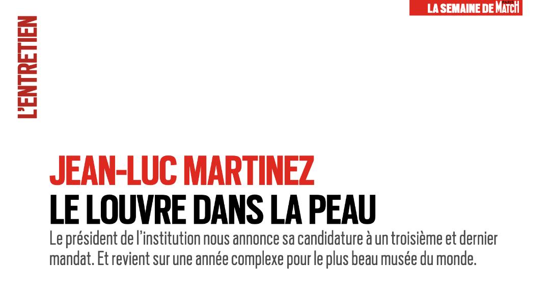 Louvre : Jean-Luc Martinez poursuit sa contre-offensive médiatique ! - La Tribune de l'Art