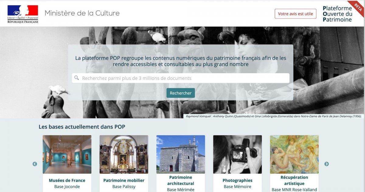Les bases de données du ministère de la Culture évoluent – La Tribune de l'Art